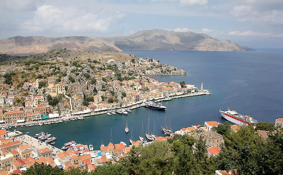 Grekiska ön Symi